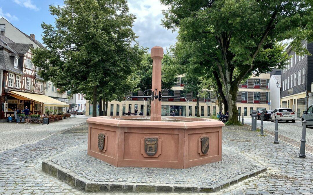 Einweihung Wilhelmsplatz & Brunnen
