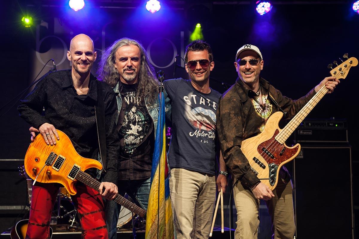 BIGFOOT Classic Rock bei der AQUARENA Nacht 2018 in Dillenburg