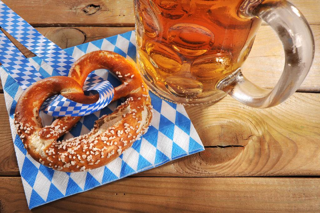 Foto Biergarten Oktoberfest